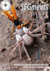The cover photograph of a spider
