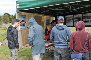 Visitors to Tennyson Dunes Open Day