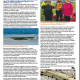 Squadron Quarterly winter article about Port River seagrass