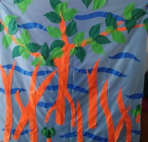Mangrove flag for TDU created by Catherine McMahon